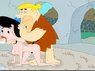 Fred And Barney Fuck Betty Flintstones At Cartoon Porn Movie