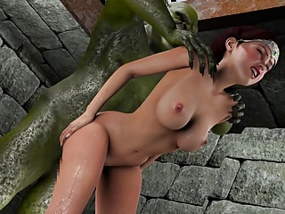 Girl Gets Fucked By Goblins