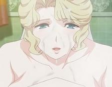 Blonde Anime With Massive Boobs Rubs