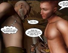 Ancient Roman Orgies 3D Gay Toon Animated Comics