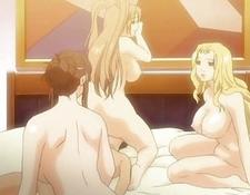 Lucky el-bags.ru Anime Dude With Three Buxom Babes