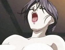 Anime Milf Enjoys A Cock And A Toy