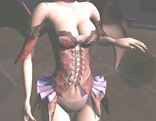 3d Anime Cutie Poked From Behind By Maskerman
