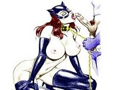 Batman With Catwoman And Batgirl Orgies