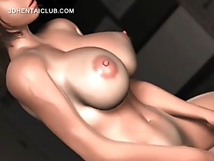Naked Hentai Stunner Tit Fucking Cock Gets A Facial