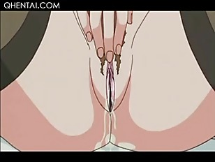 Hentai Teen Maid Eating Cock And Getting Dripping Cunt Toyed
